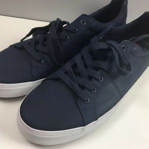 Old Navy Faux Leather Court Sneakers Size 9 Mens